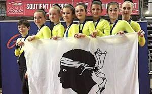 Une médaille d'or et une seconde de bronze aux championnats de France pour Bastia Team Gym