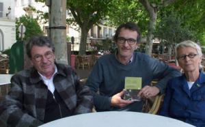 Claude Eveno, Xavier Dandoy de Casabianca, directeur des Editions Eoliennes, et Martine Bedin