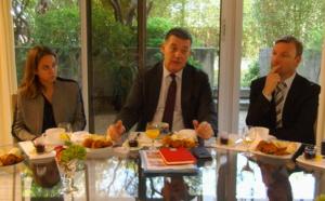 François Ravier, nouveau préfet de Haute-Corse, a exposé sa feuille de route