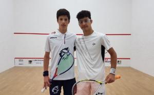 Médaille d'argent pour Antonin Romieu à l'Italian Junior Open de Squash