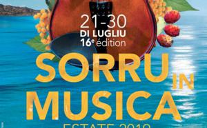 Femu campà a musica cum'è una leia trà i mondi, i paesi è l'omi : Sorru in Musica revient du 21 au 30 juillet