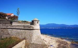 La photo du jour : la citadelle d'Ajaccio
