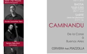 """Le groupe """"Caminandu"""" débute sa première tournée en Corse"""