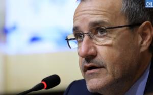 Jean-Guy Talamoni, président de l'Assemblée a réitéré son soutien « au président Colombani et aux agriculteurs désespérés