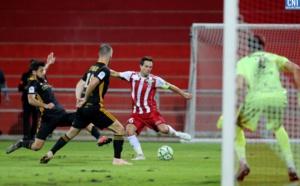 L'ACA rejoint dans le temps additionnel par Guingamp (1-1)