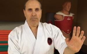 François Sampieri vit sa passion pour le karaté depuis plus de 30 ans.