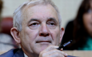 François Orlandi, conseiller territorial du groupe Andà per Dumane. Photo Michel Luccioni.
