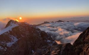 La photo du jour : au dessus des nuages près  de Ciutollu di i mori