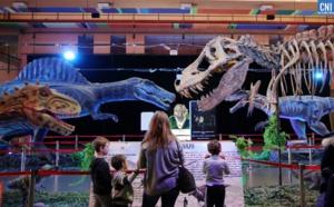 Les dinosaures s'invitent au palais des congrès d'Aiacciu