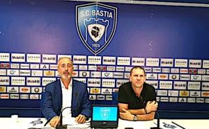 Pierre-Noël Luiggi et Claude Ferrandi ont présenté ce mardi leurs objectifs pour le SCB (photo d'archive)