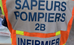 Cap Sagro : une voiture fait une chute de 5 mètres dans le vide