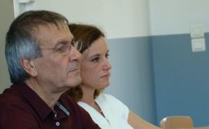 Michel Stefani et Anissa-Flore Amziane