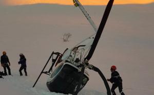Un pilote d'hélicoptère atterrit en catastrophe sur le monte Renoso