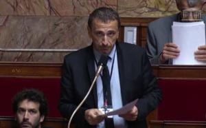 Paul-André Colombani, député nationaliste de la 2nde circonscription de Corse du Sud, membre du groupe parlementaire Libertés & Territoires, et membre du PNC.