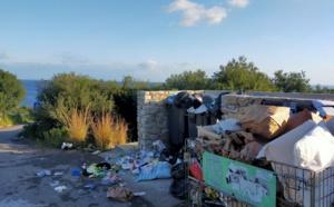 Un endroit paradisiaque de Corbara souillé par les ordures ménagères