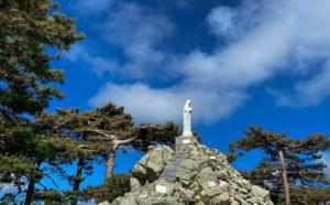 La photo du jour : Notre-Dame des Neiges de Bavella