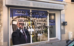Territoriales : La permanence de Laurent Marcangeli à Bastia taguée