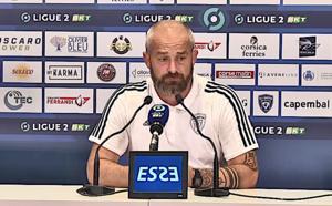 """VIDEO - Mathieu Chabert (SC Bastia) : """"les bases sont là, c'est le plus important"""""""