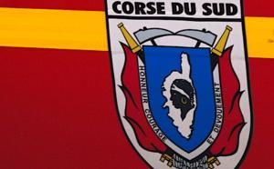 Cozzano : deux voitures brûlées, le feu se propage au maquis attenant