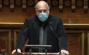 Paulu-Santu Parigi, Sénateur de Haute-Corse, membre du groupe parlementaire Ecologie, Solidarités & territoires, militant de Femu a Corsica.