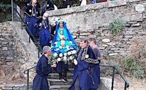 Madonna di Ficaghjola : procession jusqu'au lavoir