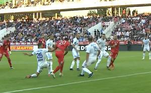 Le Sporting s'incline en fin de match  à Dijon (2-1)