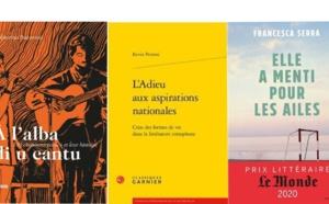 Culture : Le palmarès du prix du livre corse 2021