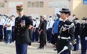 La nouvelle commandante de la gendarmerie départementale d'Ajaccio, Sandrine Reve - Photos Michel Luccioni