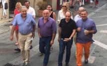 Grande braderie d'Ajaccio : Les commerçants et la ville en ordre de marche.