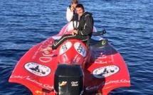 Record Saint-Tropez - Calvi en 1h45 pour Baiocchi-Villalonga aux commandes du Frojo Powerboat de 200 cv