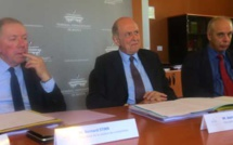 Jean-Marc Sauvé, vice-président du Conseil d'Etat, salue la bonne santé du tribunal administratif de Bastia