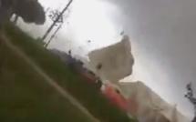Ajaccio : La vidéo du chapiteau qui s'envole, le cri des enfants…
