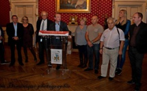 Les dirigeants de Ligue et de la Fédération Nationale de Volley reçus dans les salons napoléoniens