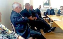 Il a été reçu par le maire et la population : Antoine Ciosi en balade à Cutuli e Curtighjatu