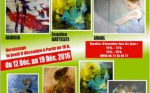 Andria, Jeannine Battesti, Janal exposent à l'espace Casanova à Lupino