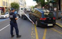 Incivilités et stationnement à Ajaccio : Opérations de police dans la ville