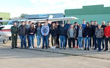 Grâce à l'Armée de l'Air, 18 élèves de première ont pu vivre leur passion de l'aviation légère
