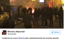 Corte : Incidents après un rassemblement de soutien