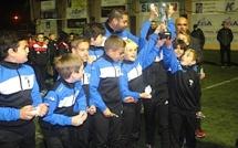 Tournoi de Noël du FC Squadra Calvi U 10- U11: le SC Bastia en Elite et Santa Reparata-di-Balagne en Honneur