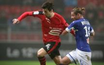 Le Sporting signe son succès en 4 minutes à Rennes