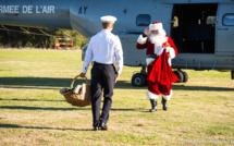 Ventiseri-Solenzara : Le Père Noël a commencé sa tournée par la BA 126