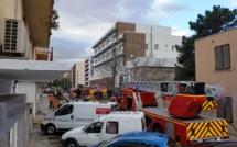 Ajaccio : Feu d'appartement aux Cannes