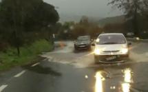 Intempéries : Plusieurs axes routiers fermés dans le secteur de Porto-Vecchio