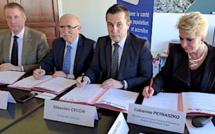 Contrat local de santé signé entre la ville de Ghisonaccia, la CPAM, l'ARS et l'Etat