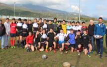 Rugby : A Lucciana deux internationaux de France 7 jaugent les U16 de Corse