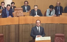 Visite présidentielle : Le discours de François Hollande à l'Assemblée de Corse
