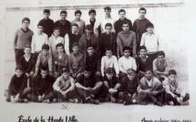 Bastia : Collège d'enseignement général de Saint-Joseph, année scolaire 1960-1961…