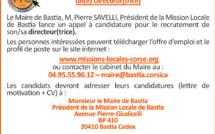 La Mission Locale de Bastia recrute un(e) directeur(trice)