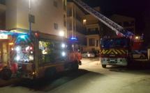 Ajaccio : Important dégagement de fumée dans une habitation des Sanguinaires