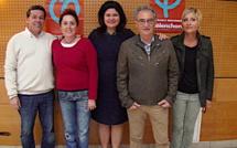 Bastia : Raquel Garrido porte la parole de Jean-Luc Mélenchon